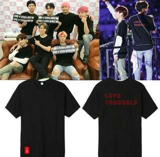 [PO] BTS INSPIRED LOVE YOURSELF SHIRT