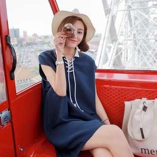Polo Style Dress
