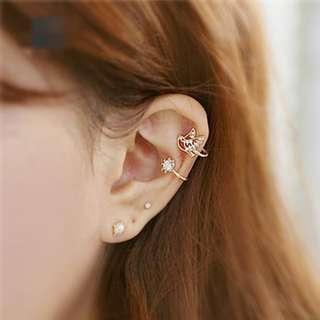 Dobe Rhinestone Fashion Jewelry Ear Cuff Earring