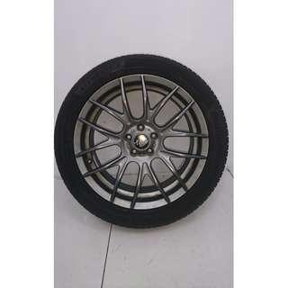"17"" Sports Rim With Tyres 5X100 (SR1443)"