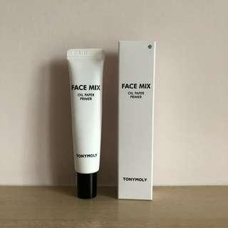 Tonymoly Face Mix Oil Paper Prime #消費不浪費