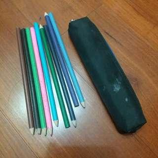 🚚 色鉛筆+小筆袋