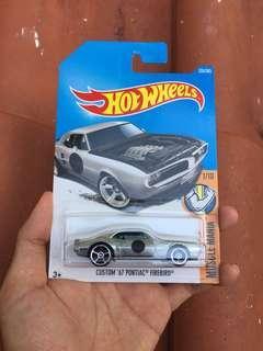 Custom 67 Pontiac Firebird Hotwheels