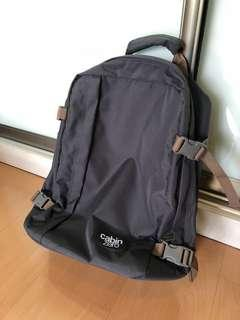New Authentic Cabin Zero travel backpack in Army Green size: 36L