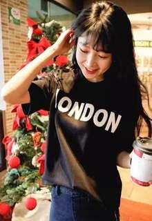 • BN || LONDON Top [ black & red available ] #single11