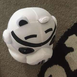 Angry birds star wars stormtrooper pig plush