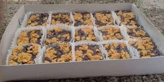 Revel Bars (15pcs) packaged with box and red ribbon