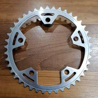 Vintage Campagnolo Victory Chainring 42T