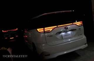 CRYSTALEYE TAIL LIGHTS (NEW MODEL)