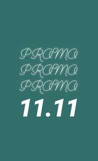 PROMO 11.11