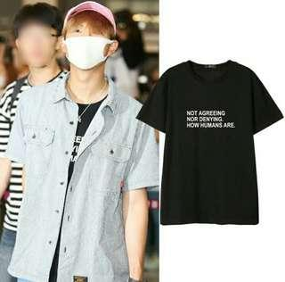 [PO] NOT AGREEING NOR DENYING HOW HUMANS ARE SHIRT