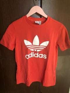 Adidas Orange Shirt