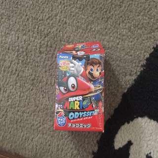 Mario odyssey capsule toy