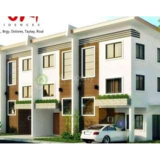 Corner Townhouse FOR SALE ZURI Residences Taytay Rizal