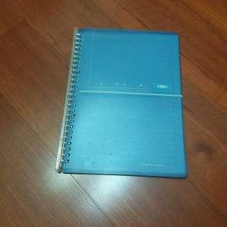 🚚 藍色資料收納夾