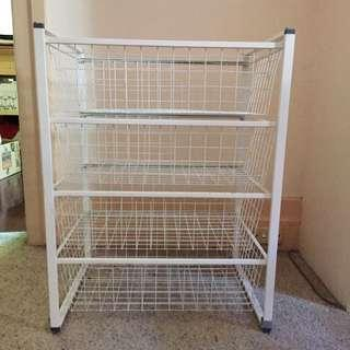 IKEA Metal Storage Pull Out Drawers