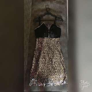 Sequins Cocktail & Party Dress