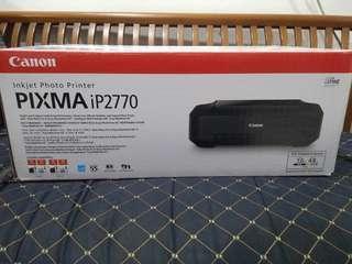 Printer Canon Pixma iP2770 edisi ga jadi pake