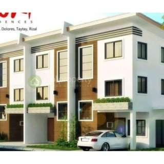 CornerTownhouse FORSALE Zuri Residences Taytay Rizal