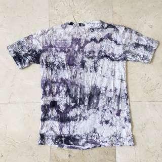 Purple/White Tie Dyed T-Shirt #single11