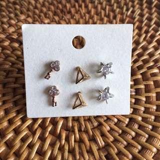 ULZZANG Simple Earrings #single11