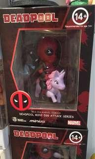 Deadpool unicorn riding Figure