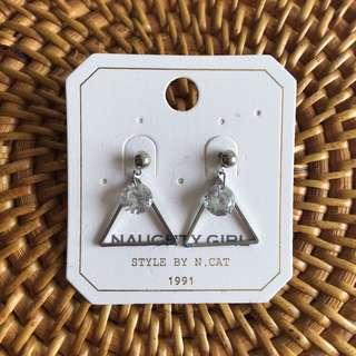 ULZZANG Triangle Earrings #single11