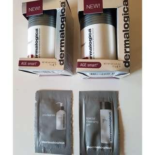 Dermalogica Daily Superfoliant  13 grams x 2 (Special Trial Size). Plus 2 samples. New