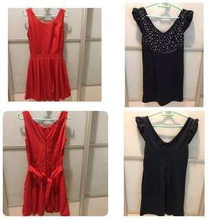 Dresses by Envee and Closet Mino