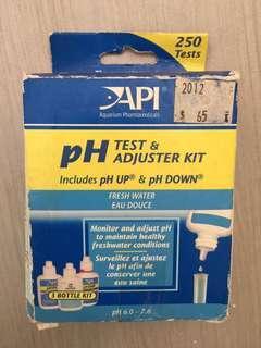 全新 API PH Test & Adjuster Kit 「唔想浪費」