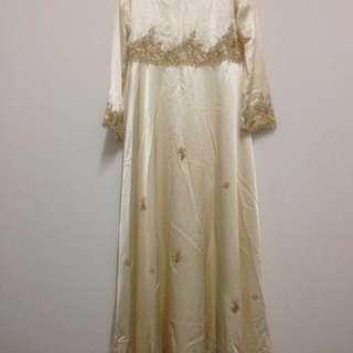 Jubah Dress Sanding / Nikah Muslimah