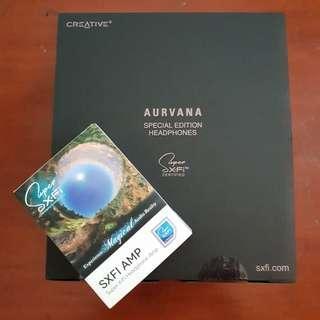 🚚 (Brand New) Creative SXFI Amp and Aurvana Special Edition Headphones