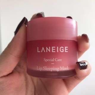 Laneige Lip Sleeping Mask (Berry) #single11