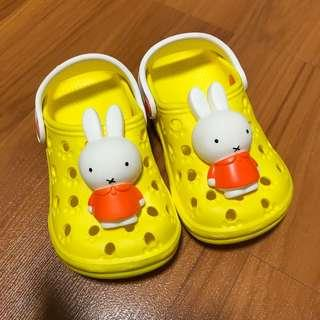 BN Miffy Rabbit Jelly Shoes