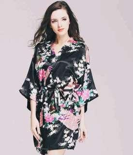 Midnight Floral Robes