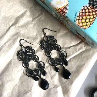 Metal Lace Earring