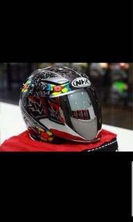 Nhk Jules Danilo Black Edition R1 Double Visor Helmet