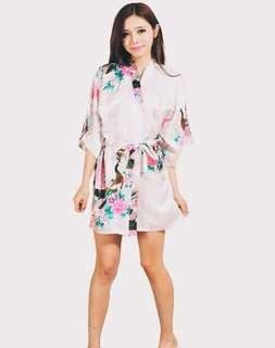 Pearl Floral Robes
