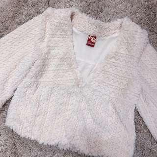 Lady Story Soft Fur Sweater