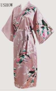 Blush Floral Robes