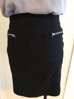 Bodycon Black Mini Skirt