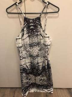 Black and white dress size 10