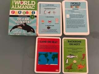The world almanac for kids puzzle deck