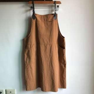 🚚 免運‼️全新 韓國 工作風 連身裙 吊帶裙