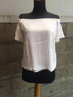 Cottonink off shoulder