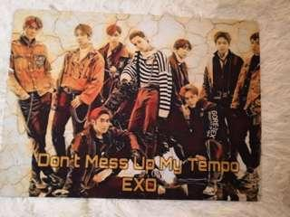 EXO PUZZLE DON'T MESS UP MY TEMPO