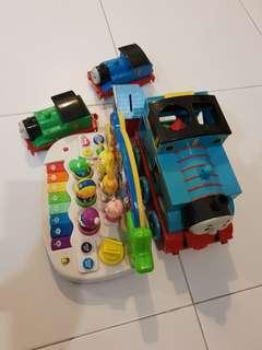 Used whole lot kids toys Thomas train  children