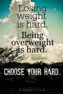 🚚 Slimming down motivationer
