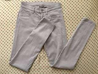 Uniqlo Light Beige Leggings Pants