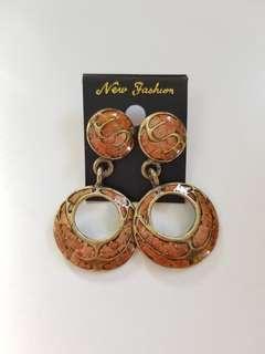 New Thailand Earrings 新馬賽克款耳環 民族